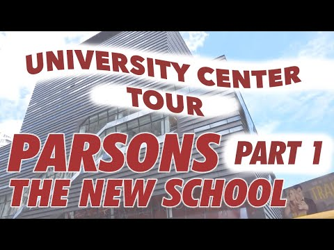 Parsons the New School for Design: School Tour [Part One//University Center]