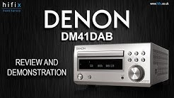 Denon DM41DAB Mini System Review and Demonstration