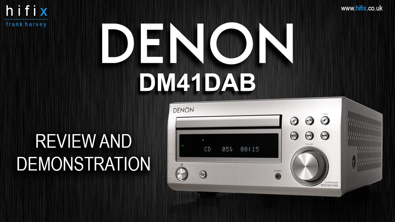 Denon Dm41dab Mini System Review And Demonstration Youtube