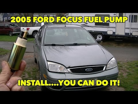 2005... Ford Focus 2.0 ZX4 SE Fuel Pump Install. Not as hard to do as you think.