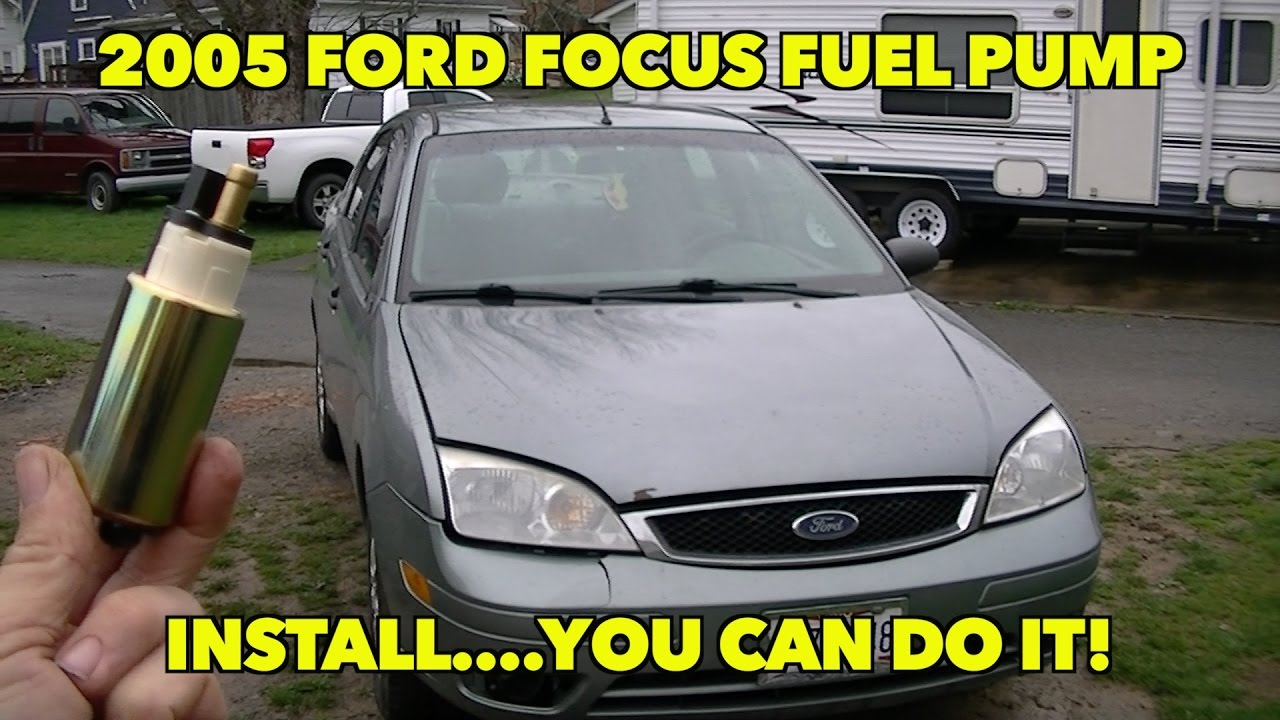 2005... Ford Focus 2.0 ZX4 SE Fuel Pump Install. Not as ...