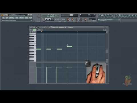 FL Studio Guru - Using the Mouse-wheel to change Piano Roll note properties