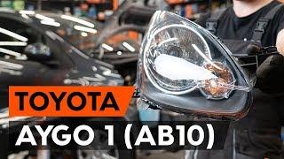 Manutenção Toyota Aygo ab1 - guia vídeo