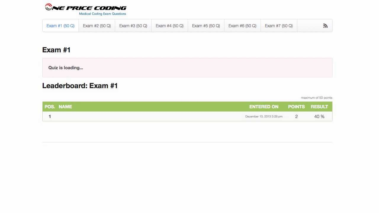 Medical Coding Certification Exam Free Professional Resume