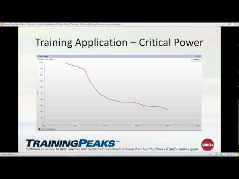 Practical Application of Power-Based Training with Jason Schisler, Director o Vision Quest Coaching