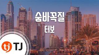 [TJ노래방] 숨바꼭질 - 터보 (Hide and Seek - TURBO) / TJ Karaoke