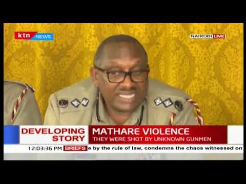 """We are not saying Nairobi is the best city in the World, but..."" Nairobi Police boss-Japheth Koome"