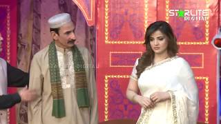 Iftikhar Thakur and Amanat Chan New Pakistani Stage Drama Full Comedy Clip