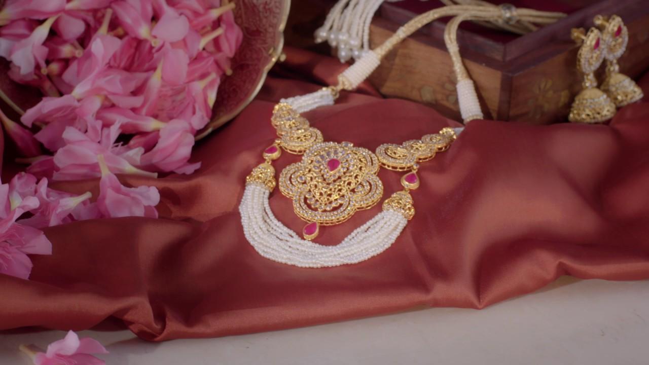 Jewels Of Royalty Open Polki Jewellery