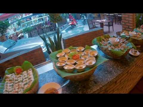 Вьетнам Нячанг 2017. Морепродукты,кафе Веранда.