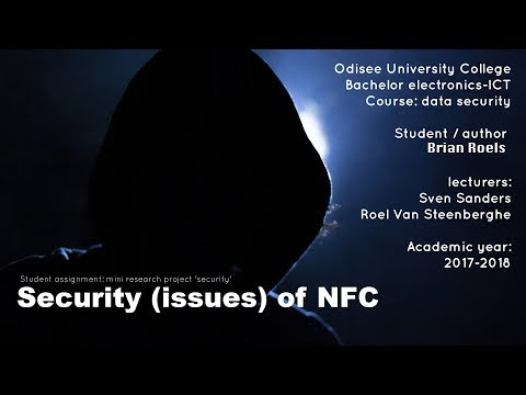 Data Security: Security (issues) of NFC
