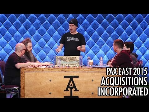 Acquisitions Incorporated 2015 PAX EAST
