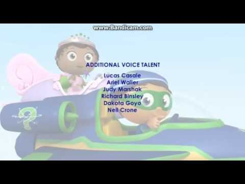 Super Why Ending Credits (FAKE)