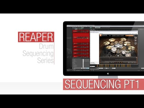 How To: Midi Drum Programming / Sequencing in Reaper - Part 1