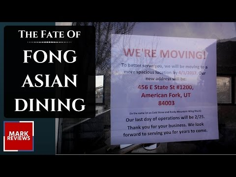 The Fate of FONG Asian Dining? - Pleasant Grove, Utah