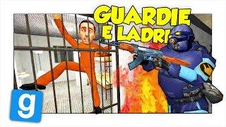 GMOD ITA - GUARDIE E LADRI NELLA PRIGIONE! w/ Two Players One Console