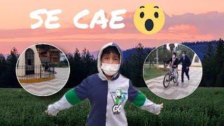 Enseñando a manejar bicicleta a mi MAMÁ- salimos después de 3 meses|Diversiones y Experimentos