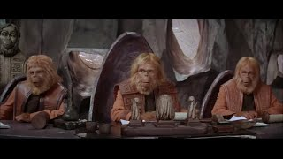 Скачать Planet Of The Apes 1968 Trial Scene Part 1 5