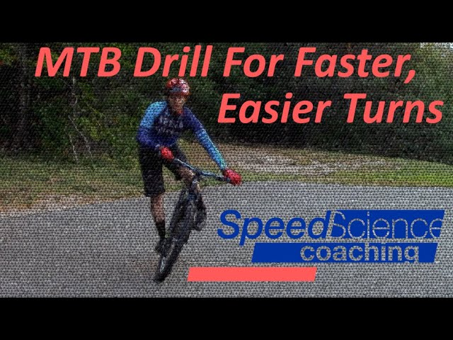 Bike Drill for Better, Faster, Easier Turns