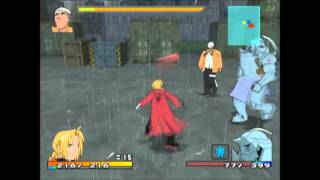 Fullmetal Alchemist 2: Curse of the Crimson Elixir Scar on 2nd playthrough A rating