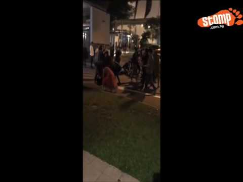 Brawl breaks out between two groups at St James, Police have to break them up