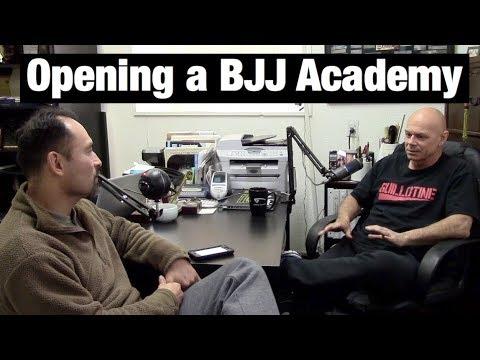Opening a BJJ Academy #1 | Bill Odom | Norfolk Karate Academy