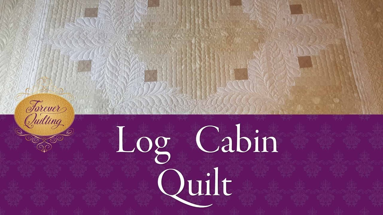 Free Motion Quilting On A Log Cabin Quilt Youtube,How Often Do Puppies Poop At 10 Weeks