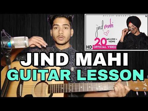 Jind Mahi Guitar Chords Lesson | Diljit Dosanjh | Panjabi song |
