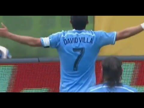 David Villa goal vs Orlando City 26.07.2015   New York City Fc vs Orlando 1-0