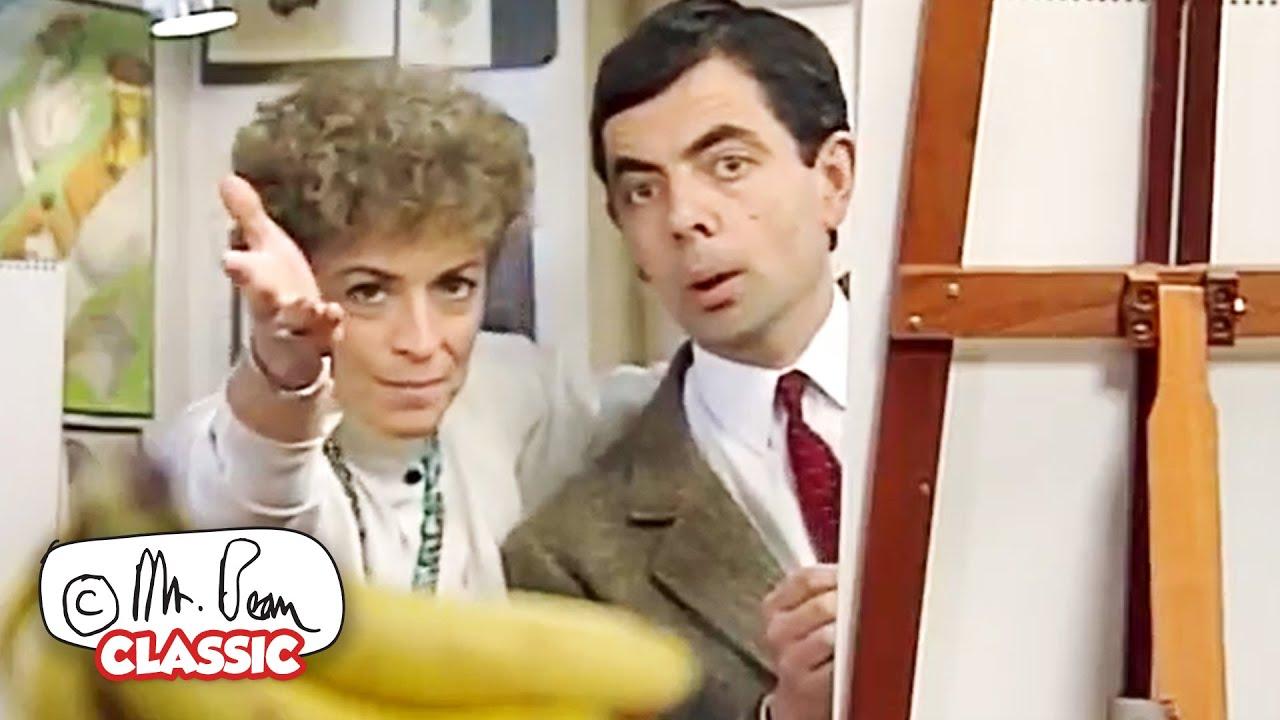 Artful BEAN   Mr Bean Funny Clips   Classic Mr Bean