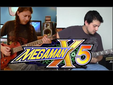 Megaman X5 | X vs Zero Cover - Epic Guitar