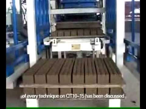 Производство кирпича методом вибропрессования