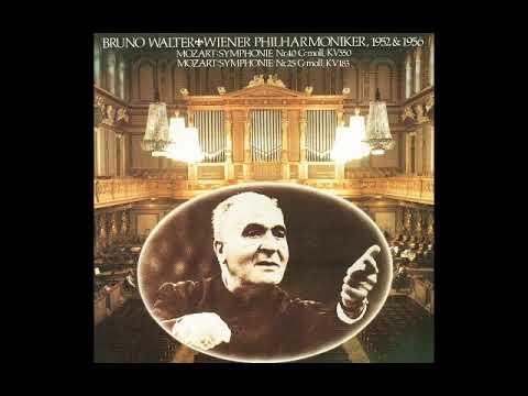 Bruno Walter Mozart - Symphony No.40  (1952) VPO