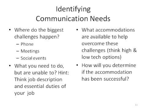WEBINAR: Communication Strategies for Surviving the Workplace or Job Market