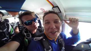 My first jump ever recorded by Auckland Skydiving, New Zealand