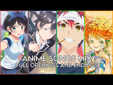 BEST ANIME OPENINGS AND ENDINGS COMPILATION [FULL SONGS]