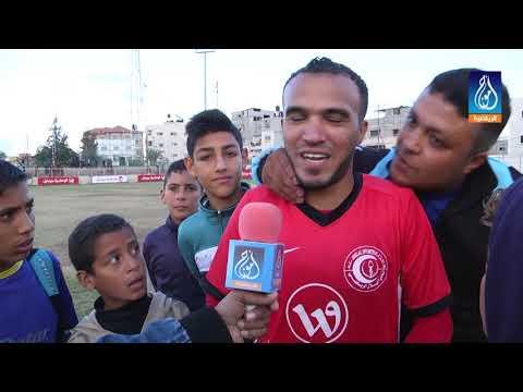 مقابلات مباراة شباب رفح وهلال غزة 26.11.2017
