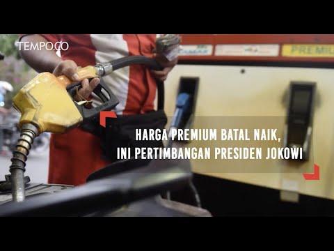 Harga Premium Batal Naik, Ini Pertimbangan Presiden Jokowi