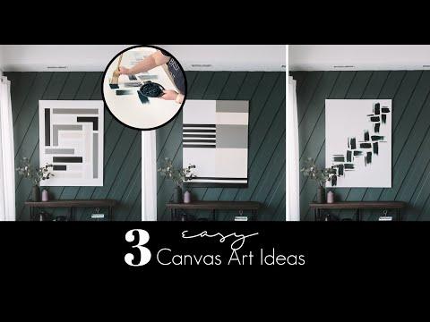 three-easy-canvas-art-ideas-|-diy-acrylic-paintings