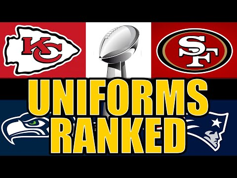 Ranking The Best & Worst Uniform Match Ups In Super Bowl History