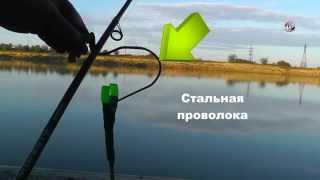 Варианты крепления Бубенчика и Колокольчика. Рыбалка. Ловля на донку. fishing