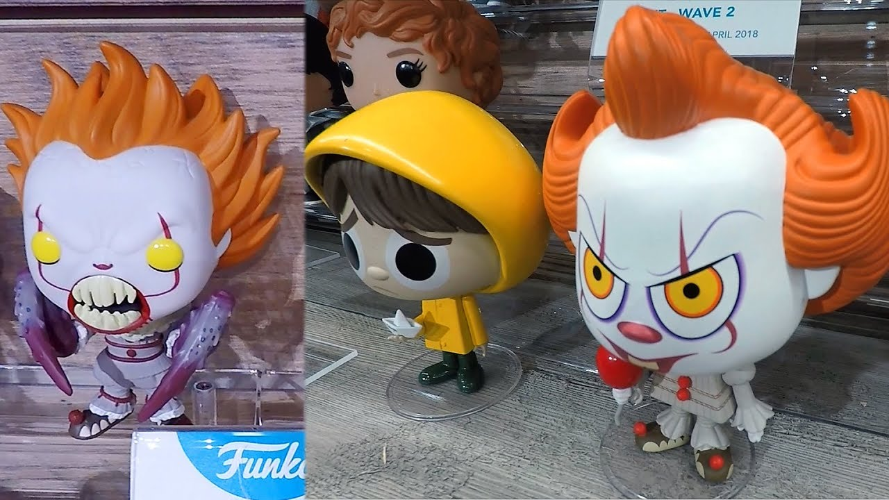 It Wave 2 Pennywise The Clown Funko Pop Vinyl Figures At