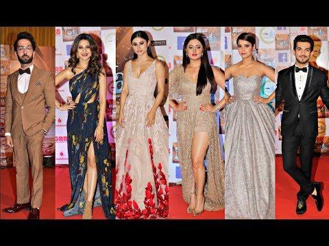 ITA Awards 2017 - Mouni Roy, Jennifer Winget , Adaa Khan, Rashmi Desai, Nakuul Mehta, Arjun Bijani