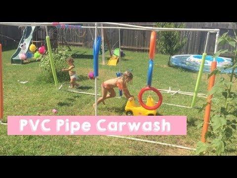 DIY PVC Pipe Car wash