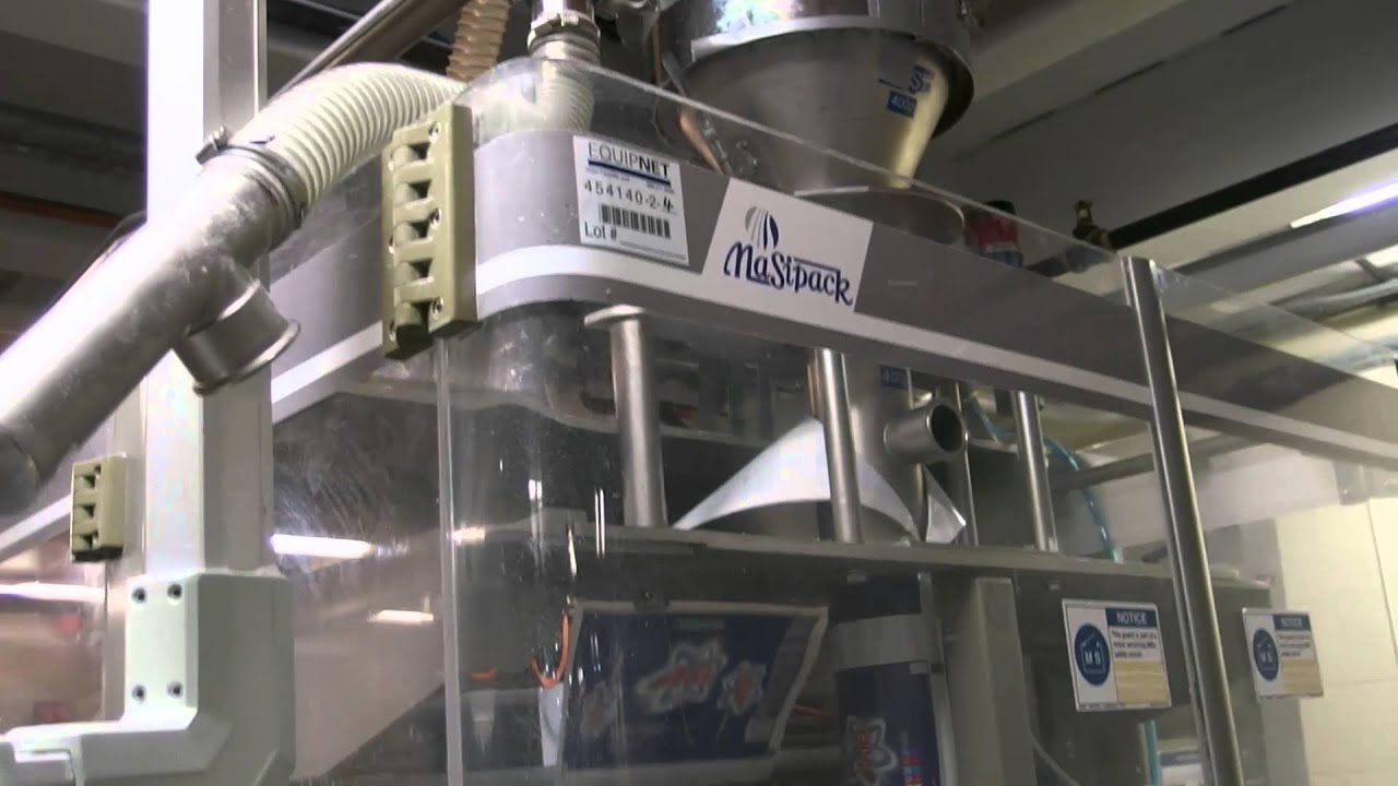 Masipack Ultra Vs400 Verticle Form Fill Seal Machine Youtube