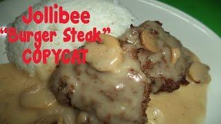 vermillionvocalists.com - Jollibee Burger Steak - Copycat