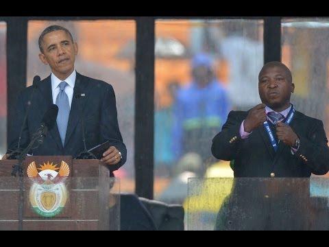 'Fake' Sign Language Interpreter at...