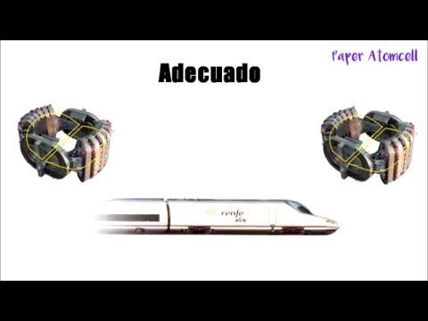 ¿Cómo funciona el tren más rápido del mundo? | Levitación magnética (Maglev)