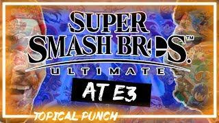 Super Smash Bros. Ultimate E3 Reveal - Topical Punch - Janjo