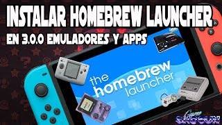 Instalar Homebrew Launcher en Nintendo Switch  3.0.0 Homebrew apps y emuladores